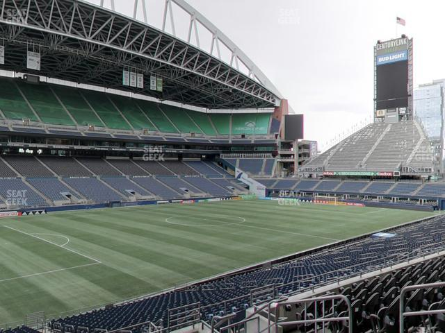 CenturyLink Field Section 214 view