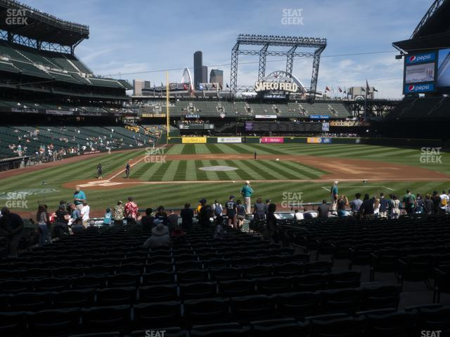 T-Mobile Park Section 124 view