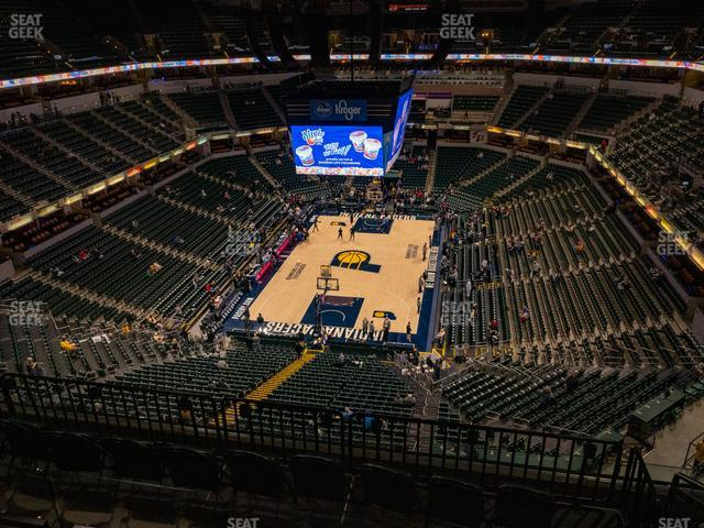 Bankers Life Fieldhouse Section 232 view