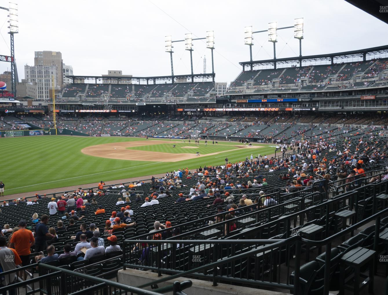 Detroit Tigers at Comerica Park Section 140 View