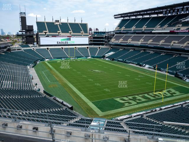 Lincoln Financial Field Section M 9 view