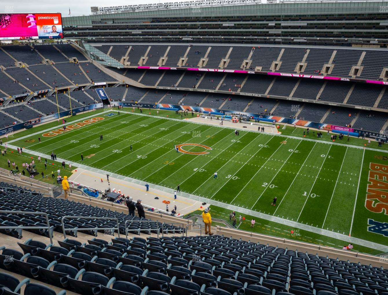 Soldier Field Section 433 Seat Views | SeatGeek