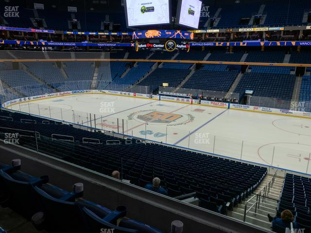KeyBank Center Section 216 view