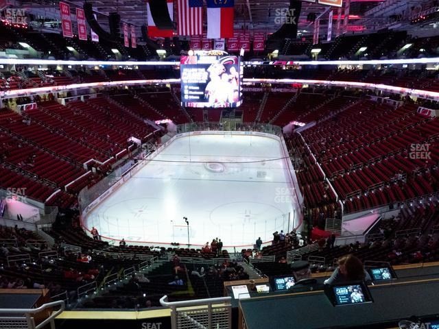 PNC Arena Section 226 view