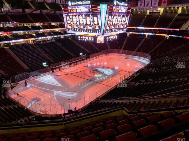 Prudential Center Section 124 view