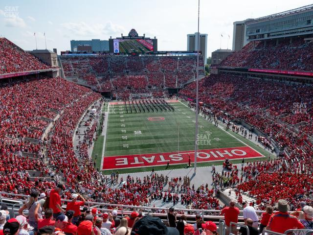 Ohio Stadium Section 4 C view
