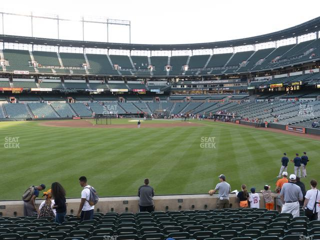 Oriole Park at Camden Yards Section 82 view