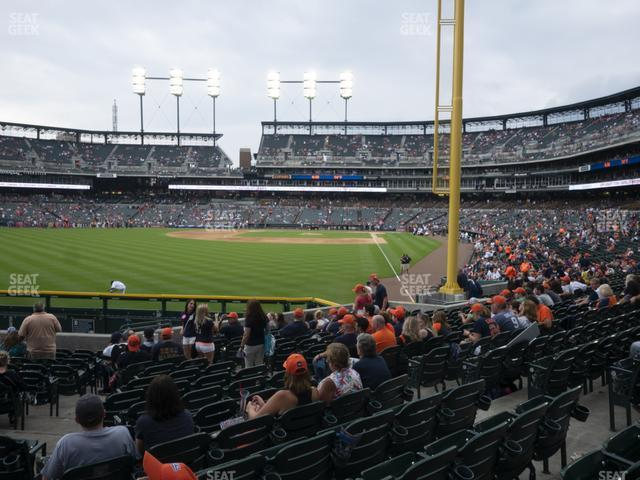 Comerica Park Section 145 view