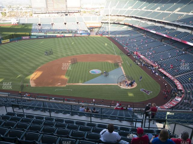 Angel Stadium of Anaheim Section 515 view