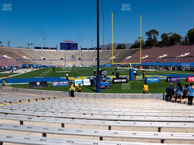 The Rose Bowl Lower 24 H view
