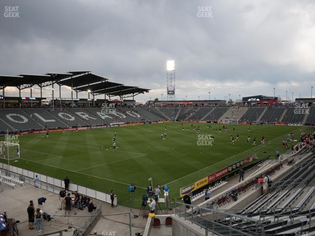 Dick's Sporting Goods Park Section 136 view