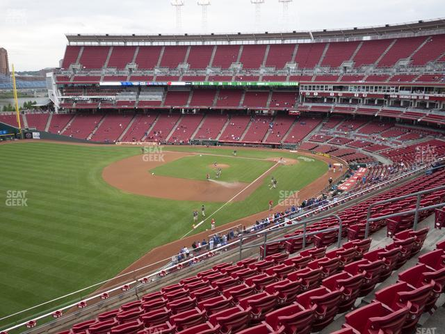 Great American Ball Park Section 411 view