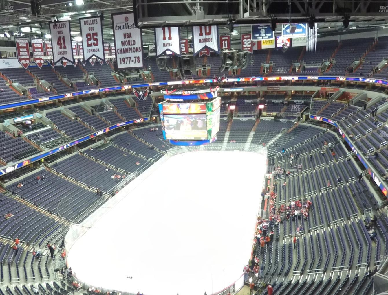 Washington Capitals at Capital One Arena Section 427 View