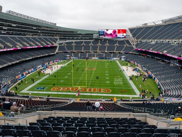 Soldier Field Section 351 view