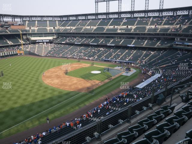 Coors Field Lower 345 view
