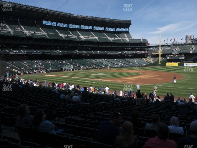 T-Mobile Park Section 118 view