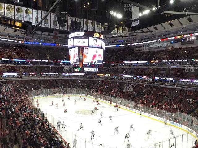 United Center Section 229 view