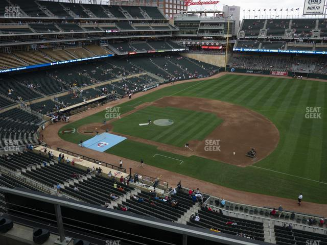 Target Field Section 207 view