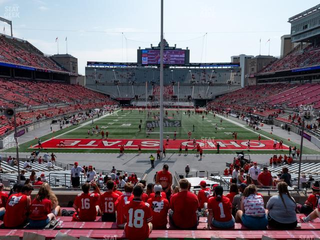 Ohio Stadium Section 1 A view