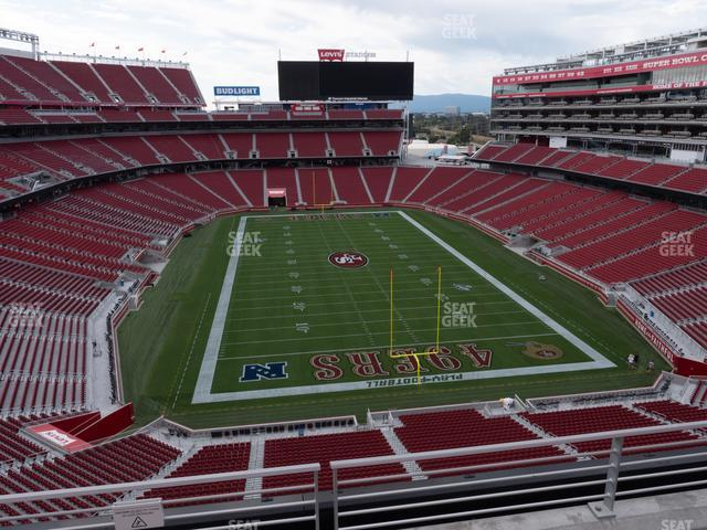 Levi's Stadium Section 304 view