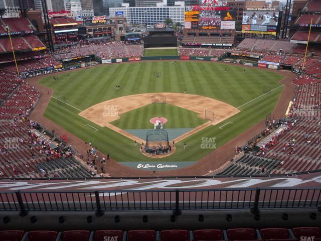 Busch Stadium Home Terrace 450 view