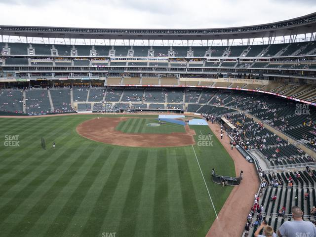 Target Field Section 329 view