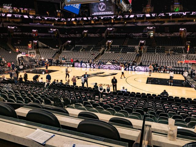 AT&T Center Box 3 view