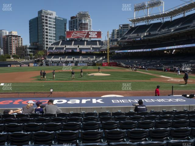 Petco Park Section 108 view