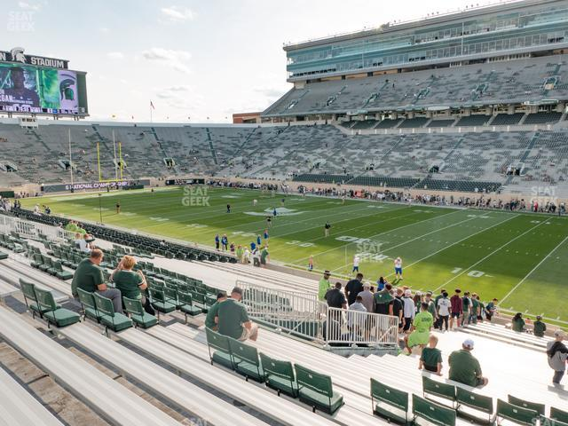 Spartan Stadium Section 6 view