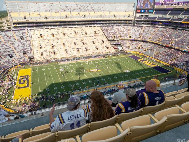 LSU Tiger Stadium Section 618 view