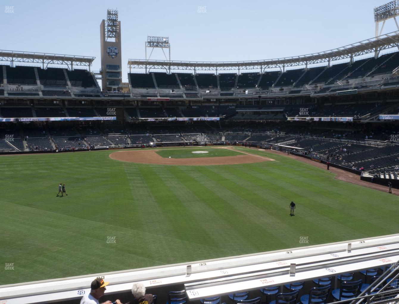 San Diego Padres at Petco Park Section 228 View