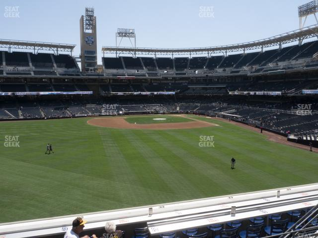 Petco Park Section 228 view