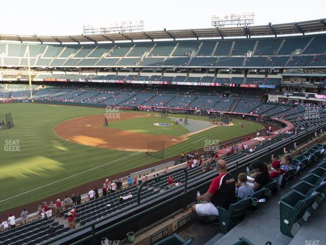 Angel Stadium of Anaheim Section 310 view