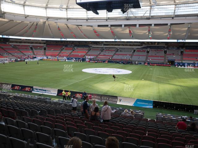 BC Place Stadium Section 240 view