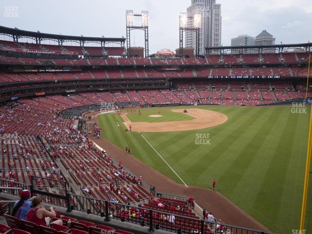 Busch Stadium Right Field Loge 231 view