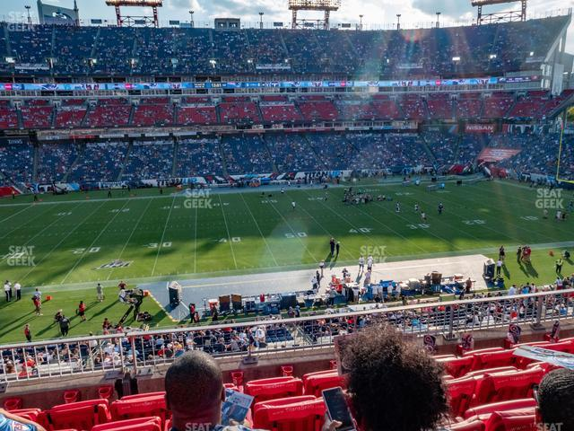 Nissan Stadium Section 213 view