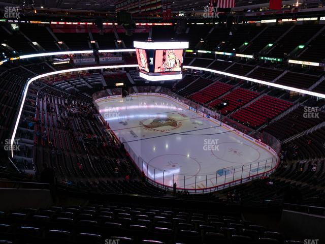 Canadian Tire Centre Section 303 view