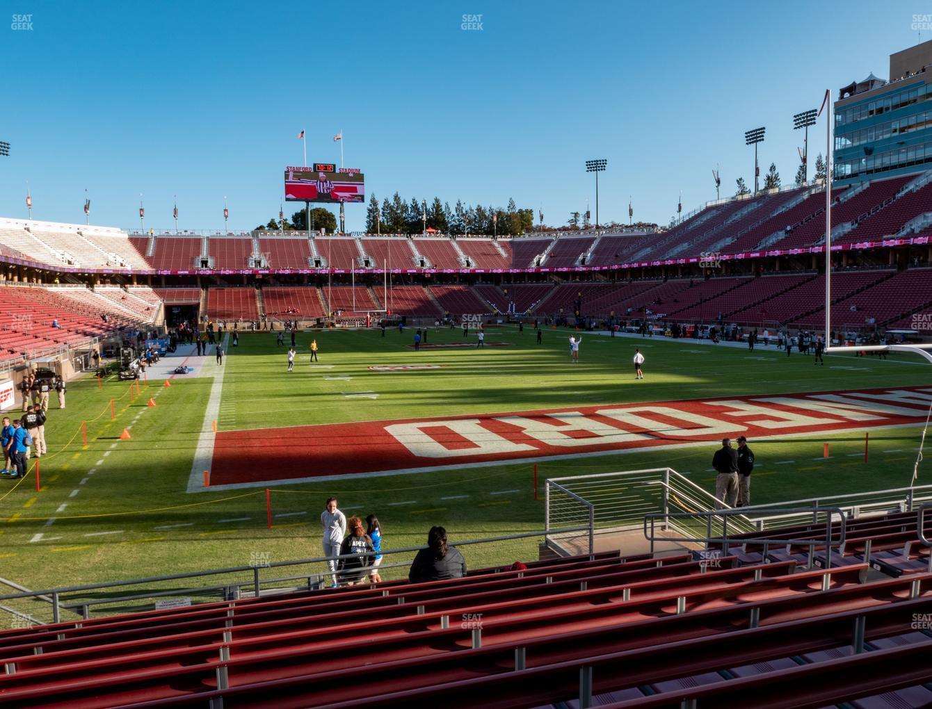 Stanford Stadium Section 125 Seat Views | SeatGeek