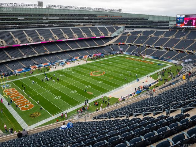 Soldier Field Section 443 view