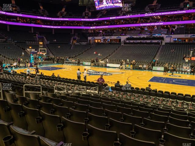Spectrum Center Section 113 view