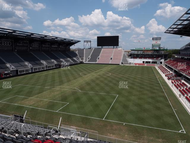 Audi Field Section 115 view