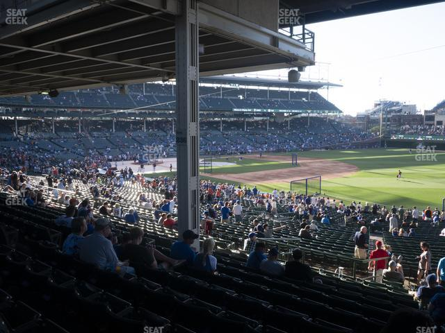 Wrigley Field Section 229 view