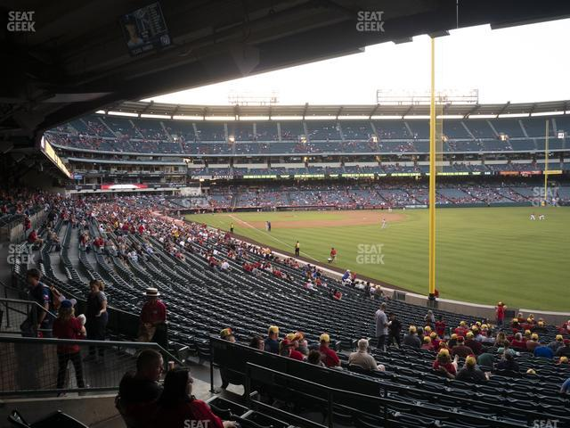 Angel Stadium of Anaheim Section 231 view