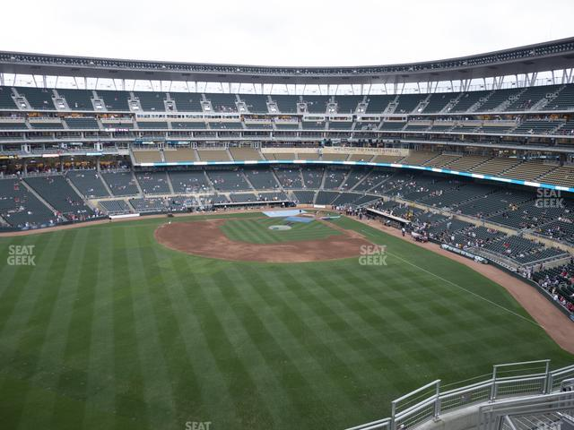 Target Field Section 332 view