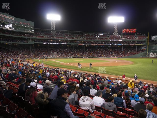 Fenway Park Right Field Box 97 view