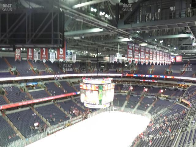 Capital One Arena Section 412 view