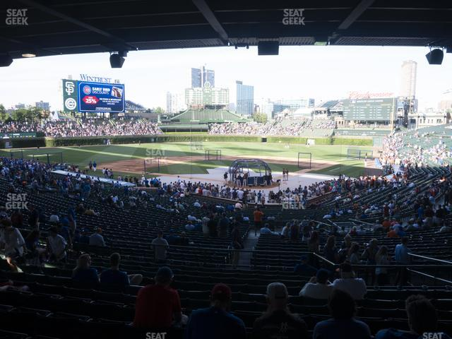 Wrigley Field Section 216 view