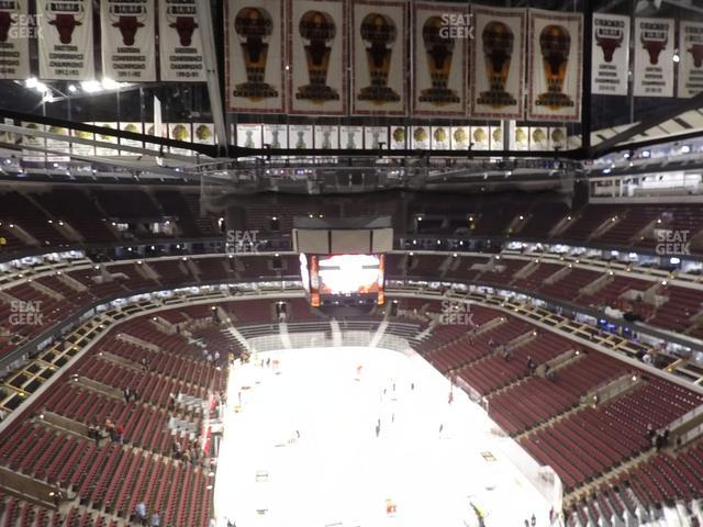 United Center Section 327 view