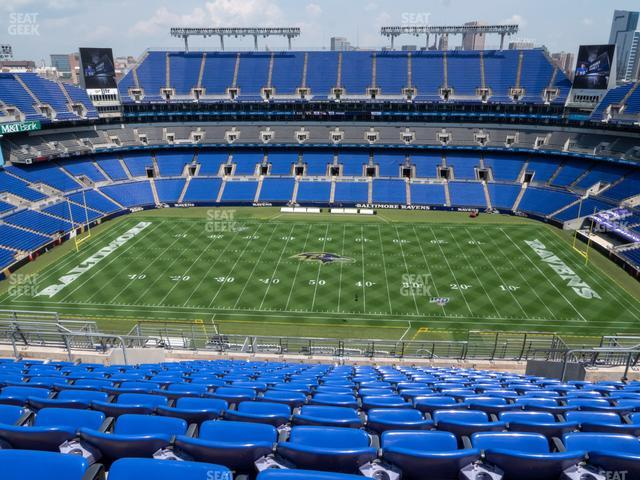 M&T Bank Stadium Section 526 view