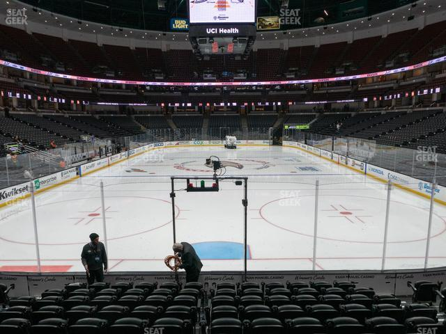 Honda Center Section 201 view
